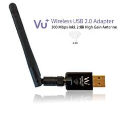 VU+ WiFi adapteren kan anvendes på en række andre enheder end VU+ produkter 2.4 GHz