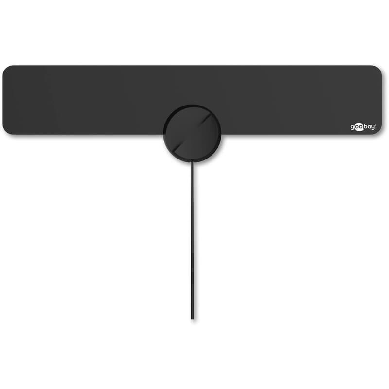 Active slimline full HD DVB-T indoor antenna