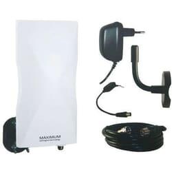 Maximum DA-6100 Udendørs DVB-T/T2/FM/DAB+ antenne,LTE filter og forstærker. Alt til montering i pakken!