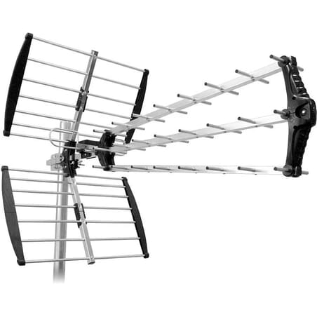 Maximum UHF 200 TV antenne giver dig et stærkt robust TV signal. Uanset om du skal modtage DR TV eller BoxerTV. God antenne til