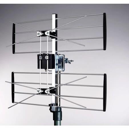 Antenne UHF 4 gitterantenne 4G/LTE filter Maximum