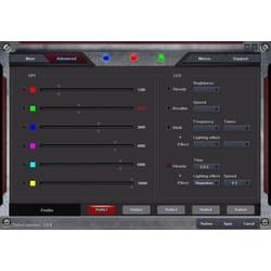 Sandberg Xterminator Mouse - juster alle parametre i den medfølgende software og sæt lys på din Xterminator mouse.