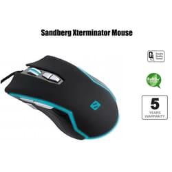 Sandberg Xterminator Mouse - Xterminator mouse leveres med 5 års garanti fra Sandberg