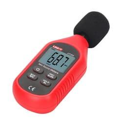 Compact digital sound level meter 30-130 dB
