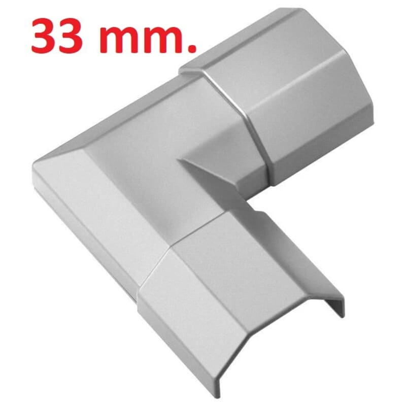 Cable tray 33 mm. corner connector