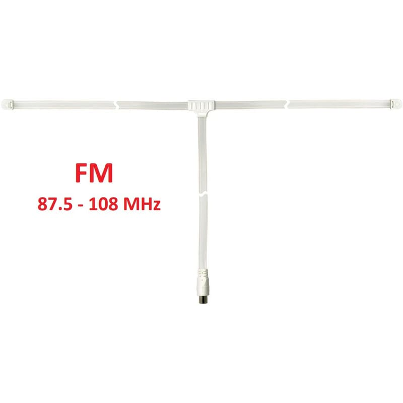 FM Antenna, Indoor antenna for FM radio, dipole