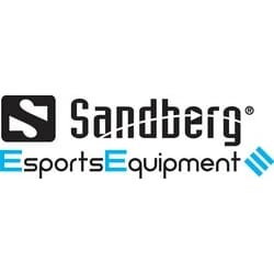 Fighter Gaming Desk 2, Black, Sandberg