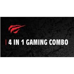 Gaming Pack - gamer tastatur,mus,høretelefoner og musemåtte 4i1