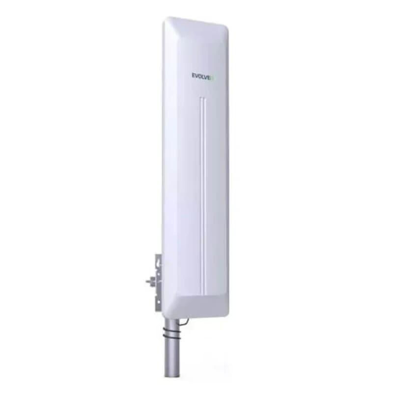 Powerful DVB-T2 TV antenna, active outdoor antenna 45 dB