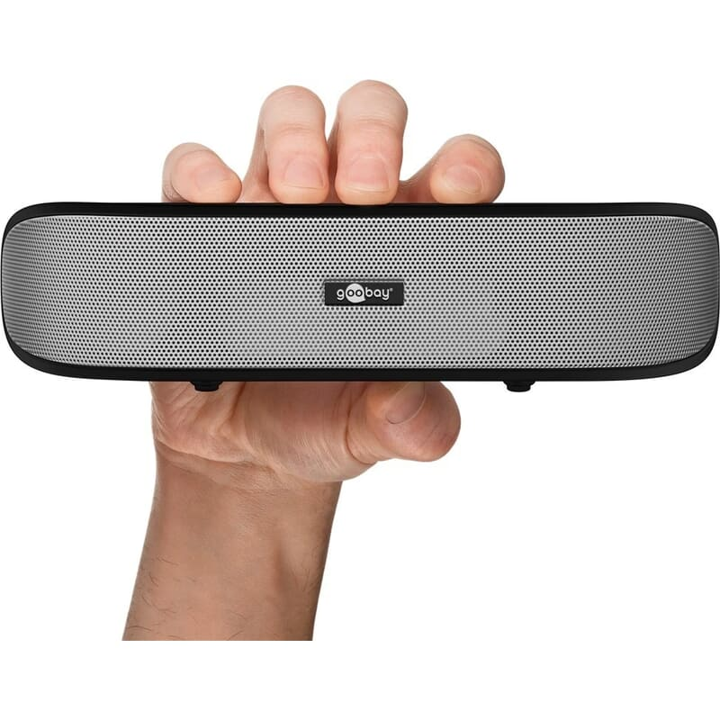 God lyd på bærbar PC med en billig stereo Soundbar