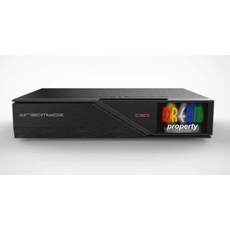 Dreambox DM900 RC20 UHD 4K receiver 1x DVB-C/DVB-T2 Dual Tuner